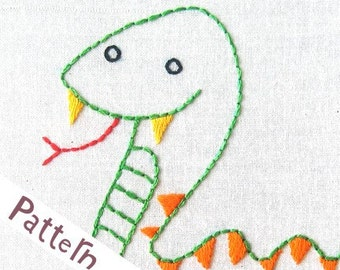 V Viper INSTANT DOWNLOAD PDF embroidery pattern