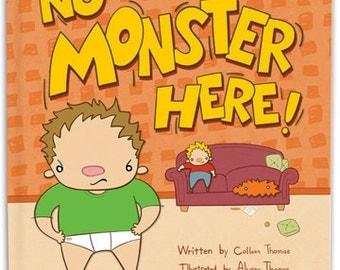 No Monster Here Children's Book