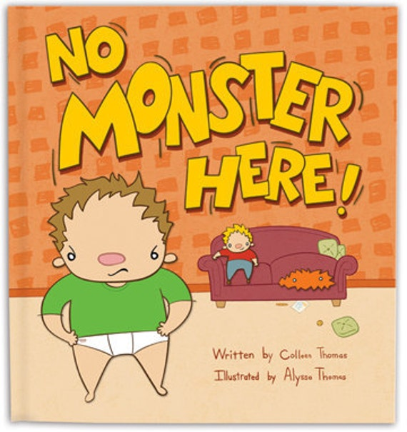 No Monster Here Children's Book