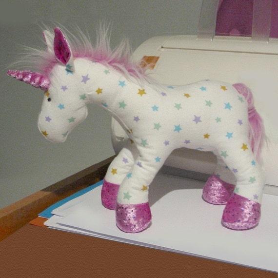 Unicorn Toys For Girls : Unicorn horse plush toy pattern pdf
