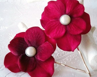 Love Knot Blossom Hairpins
