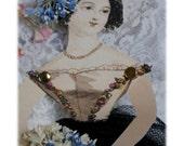 Paper Doll for altering Digital download Collage sheet Instant Download