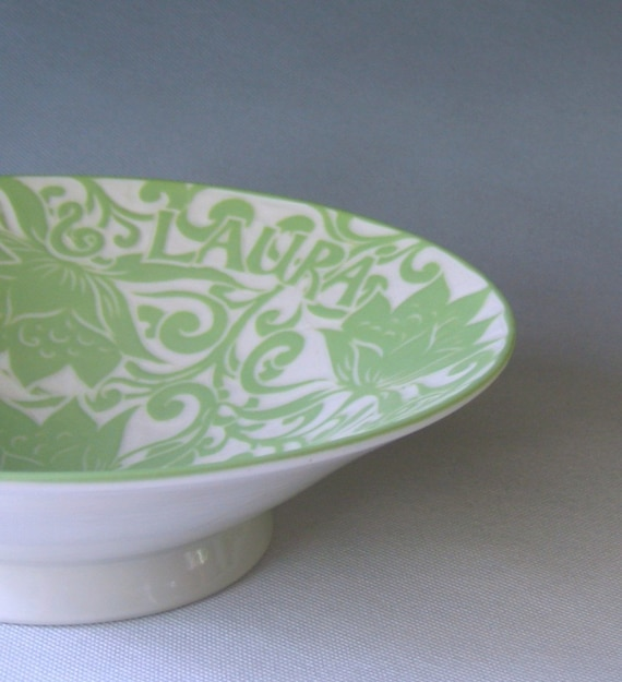 Personalized Wedding or Anniversary Bowl- Made to Order
