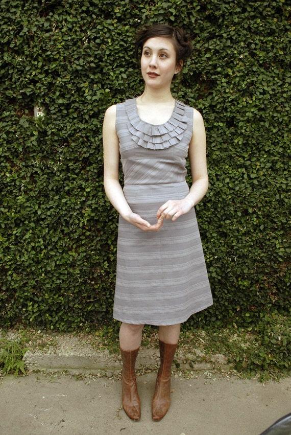 Ruffle Bib Dress
