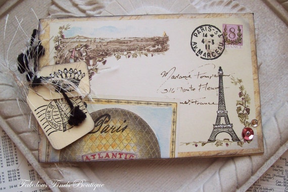Tour de france mini journal scrapbook album vintage - Scrapbooking paris boutique ...