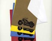 motor cycle stationery set