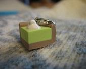 Key Lime Pie Stitch Marker