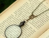 Victorian Monocle Necklace