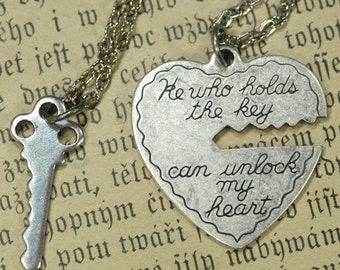 He Who Holds The Key.. 2 necklace set