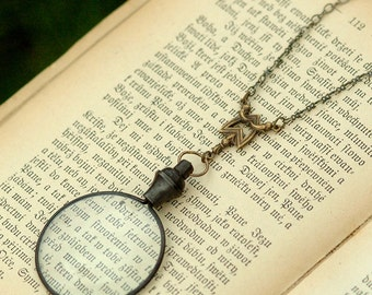 Victorian Monocle Necklace