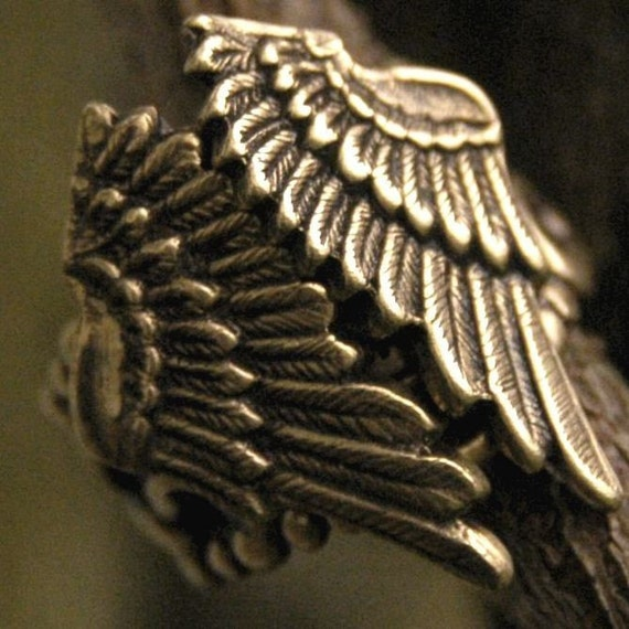 Folded Wings Ring