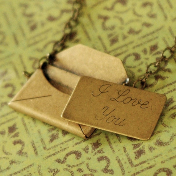 Love Letter Necklace- Large