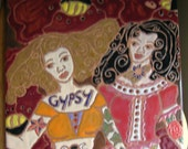 Goddess Gypsies of Transformation Tile RetabloHOLD