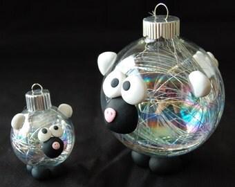 Small Sheep Ornapet Ornament