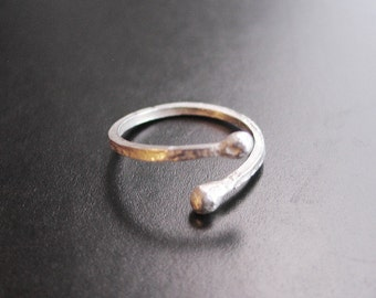 Anticipation - Sterling Silver Adjustable Ring