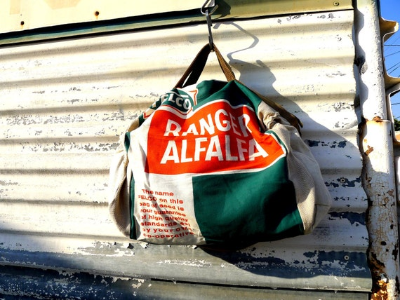 rangers alfalfa fort dodge iowa vintage seed feed sack messenger. Cars Review. Best American Auto & Cars Review