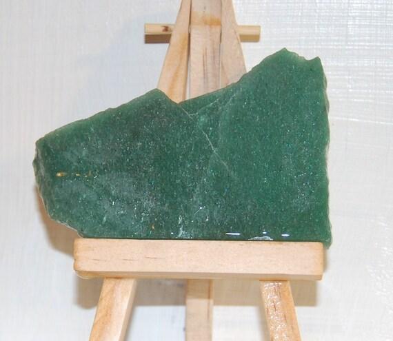 Green Aventurine Slab unpolished by PrairieJewel of Esty