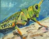 Careful Little Grasshopper