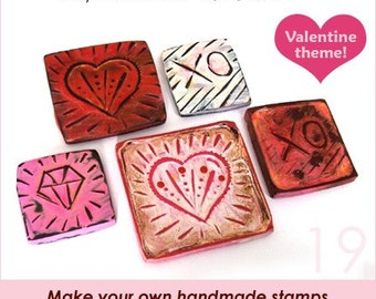 Polymer clay tutorial carving, Handmade stamps, Polymer clay stamping, Paint on polymer clay, how to polymer clay carving | PDF | Vol 19