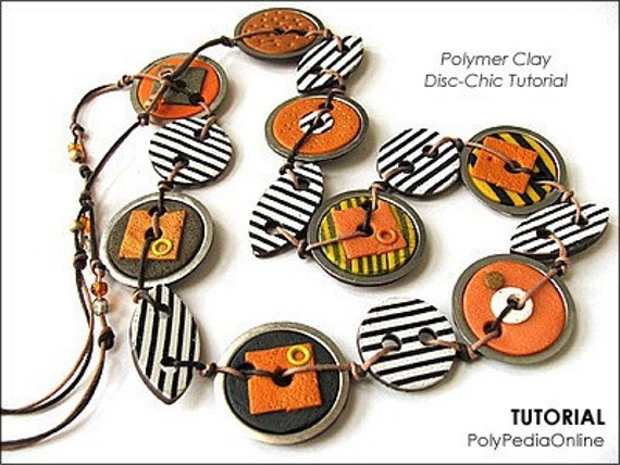 Polymer clay tutorial, Jewelry necklace tutorial, Bezel polymer clay beads, Recycle handmade beads | DISC-CHIC Jewelry | Pdf, Videos, CD