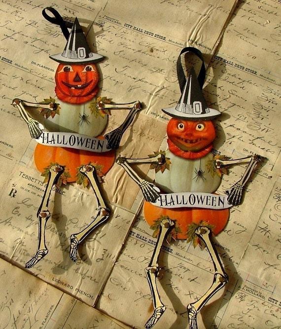 Pumpkin Jack paper dolls download