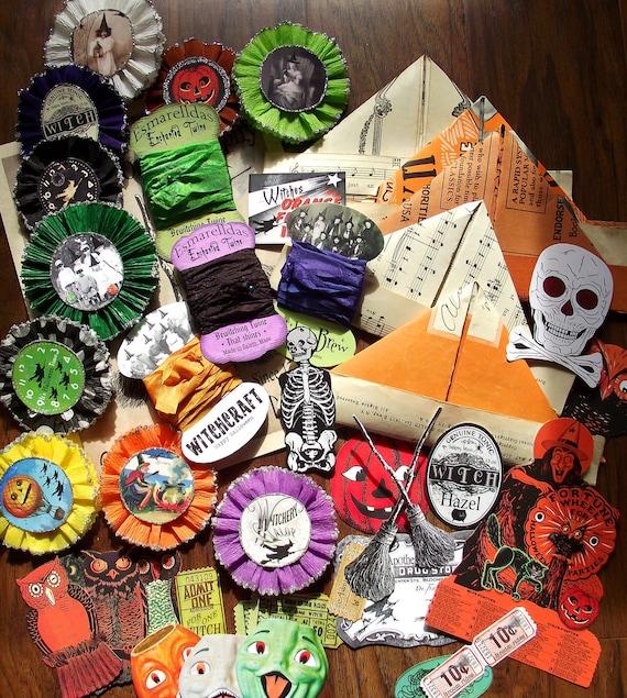 Halloween crafting elements kit