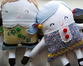 Two-Faced Friend Doll Pattern--Girl and Boy Doll Styles Included