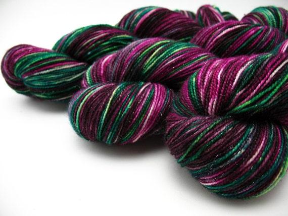 Bling sparkly sock yarn