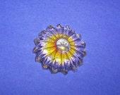 SALE - Funky Flower Magnet