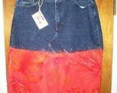 On The Town with Rescued Rags Size 18 skirt\/cami set