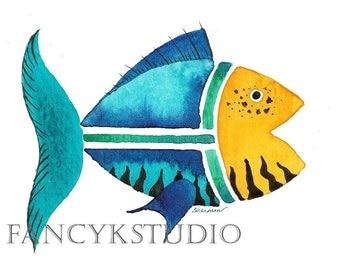 556 FISH  11x14 Limited Edition Fine Art Print