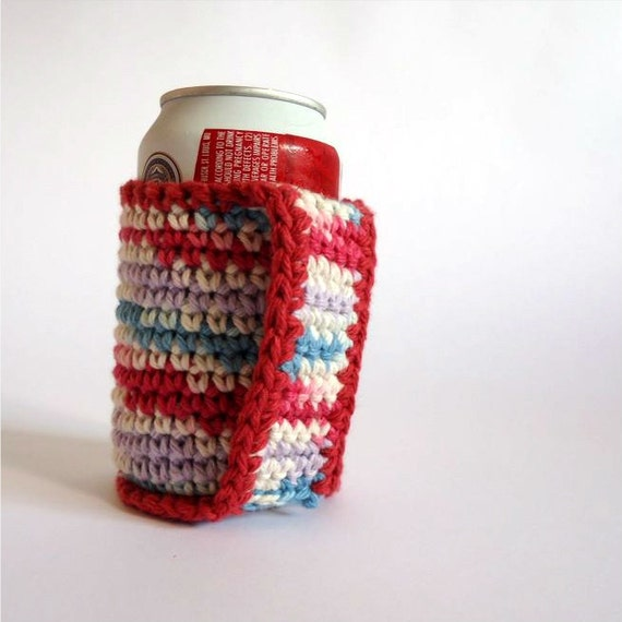 Crochet Patterns For Koozies : Coozie Koozie Cozy Crochet Cotton by BluePlanetCreations ...