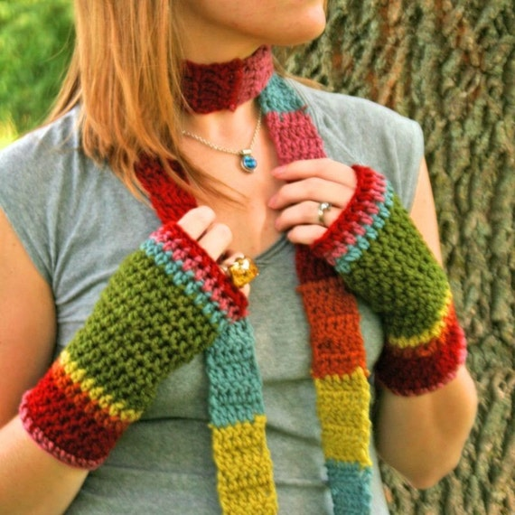 Rainbow Crochet Toasties-RESERVED FOR MUSICALLURE