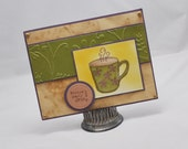 Coffee Card - Escape The Daily Grind - CardsandMoorebyTerri