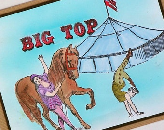 Circus Card Big Top