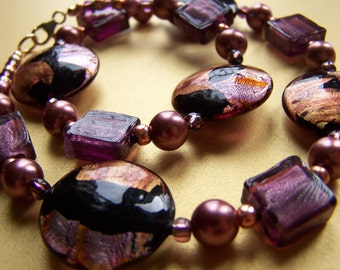 Amethyst Sunset Necklace