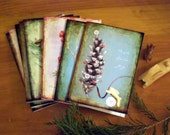 Nature Christmas card set