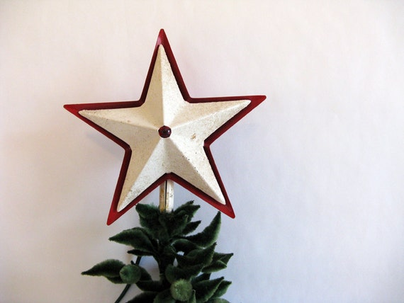 Vintage Star Tree Topper 92