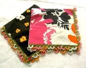 Oya napkins\/handkerchiefs