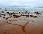 My Heart Belongs at the Beach - 8x10 Fine Art Photography
