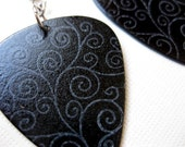 Twilight Guitar Pick Earrings