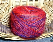 njy balled yarn angora mohair red lovers unite