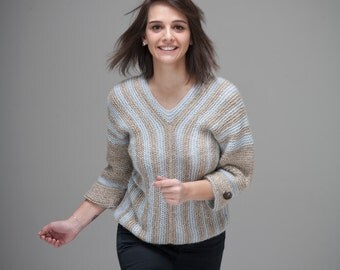 On The Road sweater (one of a kind)