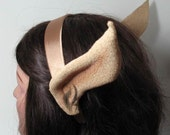 Curvy Costume Creature Ears - Elf, Fairy, or Alien