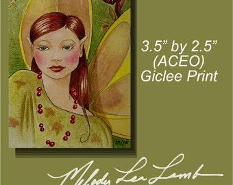 Fairy ACEO Art Print Melody Lea Lamb