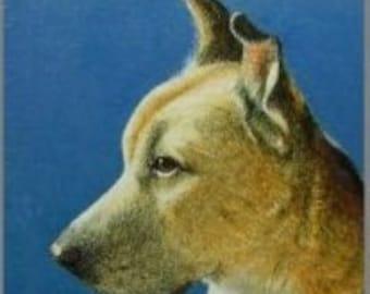 Rescue Dog Art Bookmark Melody Lea Lamb