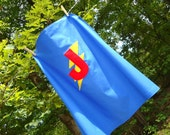 Must Have Superhero Cape - Customizable Color and Letter