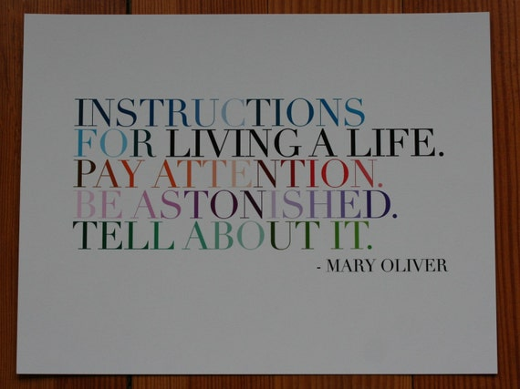 instructions matte archival print