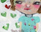 True heart 4x6 print