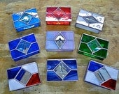 Stained Glass Gift Card or Gift Presentation Box  Reduced 25%
